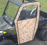 Polaris Ranger 570 Midsize 2015-2019 Soft Vinyl Side Door Enclosures Custom