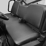 Polaris Ranger Midsize 400 500 800 2010-2014 Seat Covers Custom Made | Black