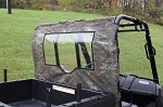 Polaris Ranger Midsize 400 500 800 2010-2014 Rear Window Dust Stopper | Camo