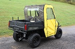 Polaris Ranger Midsize 400 500 800 2010-2014 Vinyl Side Door Enclosures | Black