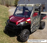Polaris Ranger XP900 2013-2019 Full Custom Made Cab Enclosure | Black
