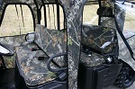 Polaris Ranger 500 570 800 Crew Midsize 2010-2014 Bench Seat Cover Set | Camo