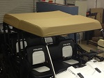 Polaris Ranger Crew Midsize 2011-2014 Custom Made UTV Soft Top Roof Cover Cap