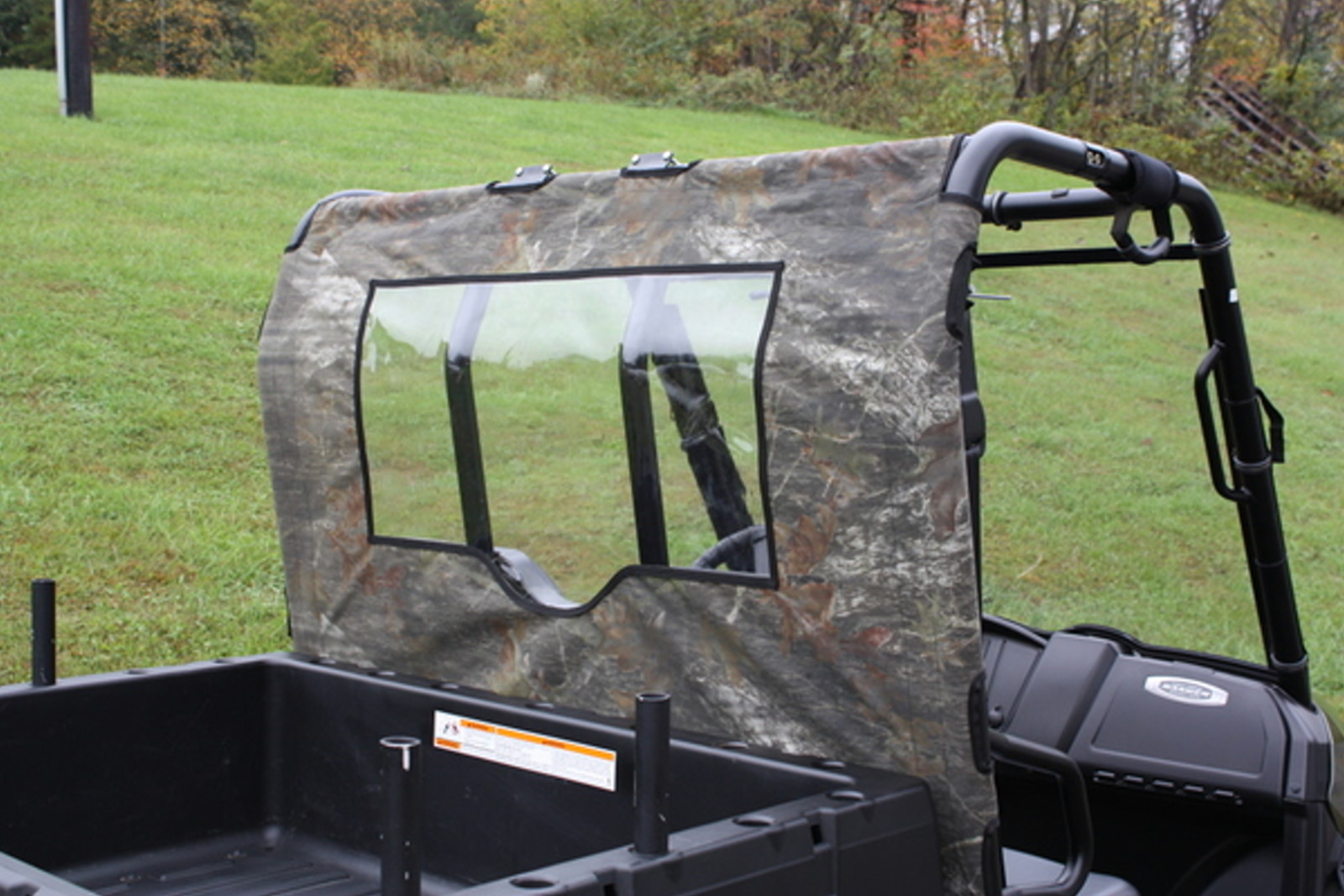 Polaris Ranger 400 500 800 Mid-Size Models 2010-2013 Custom Rear Wind Jammer