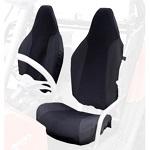Polaris RZR 570 800 XP900 2008-2014 Seat Covers Set Custom Made | Black