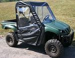 Yamaha Rhino 2004-2013 UTV Full Cabin Cab Enclosure w/o Factory Doors