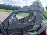 Yamaha YXZ 1000R 2016+ Door Side Enclosures Doors Custom Made | Black