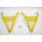 Can Am Outlander Renegade High Lifter Arched Front Lower A-Arms | Yellow