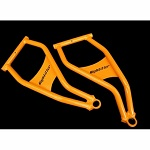 Max Clearance Front Lower Control Arms for 2010-2014 Polaris RZR 800 4 - Orange
