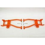 Max Clearance Rear Lower Control Arms 2010-2014 Polaris RZR 800 4 - Orange
