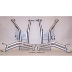 2016 Polaris RZR 1000 S Max Clearance Rear Raked Control Arm Set Silver