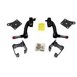 "EZGO Workhorse 1200 2001.5-2008.5 Gas Golf Cart  Jakes 6"" Spindle Lift Kit 