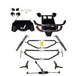 EZGO TXT Golf Cart 2001.5-2009 Electric Jakes Long Travel Lift Kit | 6221