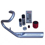 Jakes Yamaha G16 G19 G22 Drive Gas Golf Cart Performance Header Muffler Kit