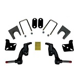 "EZGO RXV Electric Golf Cart 2008-2013 Jakes 3"" Spindle Lift Kit 
