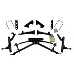 "Jakes Club Car DS Golf Cart 2004.5-Up 4"" Double A-arm Lift Kit 