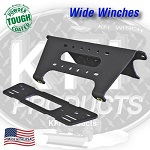 2013-2015 Polaris Ranger XP900 KFI Front Wide Winch Mount Mounting Plate