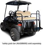 Madjax Genesis 150 Rear Flip Seat | Club Car Precedent 2004-Up Golf | Buff