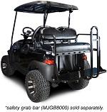 Madjax Genesis 150 Rear Flip Seat | Club Car Precedent 2004-Up Golf | Black
