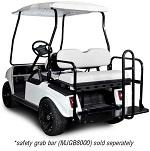 Madjax Genesis 150 Rear Flip Seat | Club Car DS 1982-Up Golf Cart | White