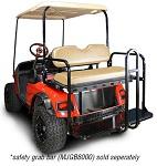 Madjax Genesis 150 Rear Flip Seat | EZGo TXT 1994.5-Up Golf Cart | Tan