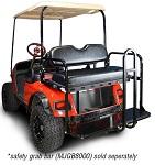 Madjax Genesis 150 Rear Flip Seat | EZGo TXT 1994.5-Up Golf Cart | Black