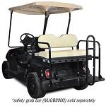 Madjax Genesis 150 Rear Flip Seat | Yamaha G19-G22 Golf Cart | Ivory