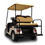 Madjax Genesis 150 Rear Flip Seat | Star Cart Classic Golf Cart | Tan