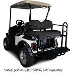 Madjax Genesis 150 Rear Flip Seat | EZGo RXV 2008-Up | Black