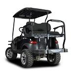 Madjax Genesis 300 Rear Standard Flip Seat | EZGO RXV Cart 2008-Up | Black