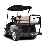 Madjax Genesis 250 Rear Standard Flip Seat   Club Car Precedent Cart   Buff