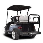 Madjax Genesis 250 Rear Standard Flip Seat | Club Car Precedent Cart | White