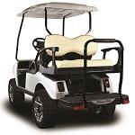 Madjax Genesis 250 Rear Deluxe Flip Seat   Club Car DS Golf Cart  Buff