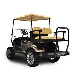 Madjax Genesis 250 Rear Standard Flip Seat | EZGO TXT 1994-Up Cart | Tan