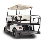 Madjax Genesis 300 Rear Standard Flip Seat   Star Cart Classic Golf Cart   Almond