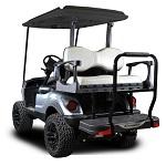 Madjax Genesis 250 Rear Deluxe Flip Seat | Star Cart Golf Cart | White