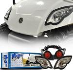 MadJax Yamaha G29 Golf Cart 2007-Up LED Light Kit w/ LED Tail Lights   02-003