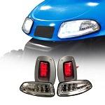 MadJax EZGO RXV Golf Cart 2008-2015 LED Light Kit w/ LED Tail Lights | 02-004