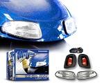 MadJax EZGO RXV Golf Cart 2008-2015 Basic Light Kit w/ LED Tail Lights | 02-014