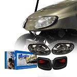MadJax EZGO Freedom T48 2014-Up Basic Light Kit w/LED Tail Lights | 02-023