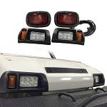 Madjax Club Car DS Golf Cart 1982-Up Basic LED Light Kit w/ Tail Lights | 02-033