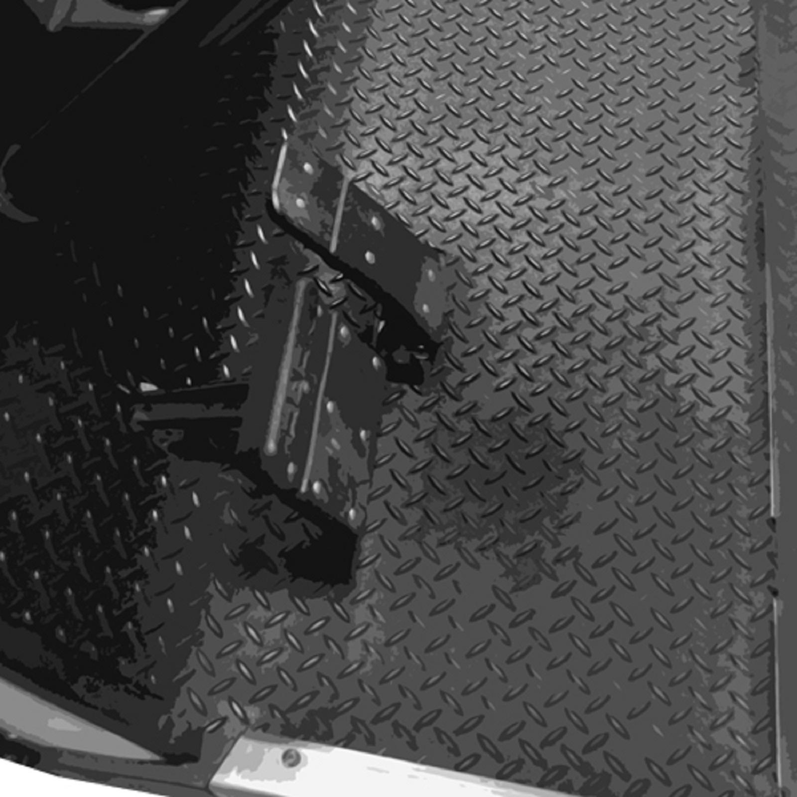 Diamond Plated Rubber Floor Mat For Yamaha Drive G29 2007 2016