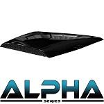 Madjax Alpha Series Hood Scoop for Club Car Precedent | Black