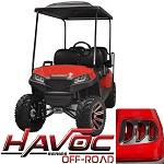 Madjax Havoc Series Offroad Body Kit Yamaha G29 Drive Golf Cart | Red