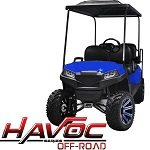 Madjax Havoc Series Offroad Front Cowl Kit Yamaha G29 Drive Golf Cart | Blue