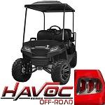 Madjax Havoc Series Offroad Body Kit Yamaha G29 Drive Golf Cart | Black
