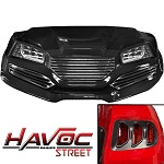 Madjax Havoc Series Street Body Kit Yamaha G29 Drive Golf Cart | Black