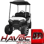 Madjax Havoc Series Offroad Body Kit Yamaha G29 Drive Golf Cart | White