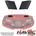 Madjax Havoc Street Series Hood Vents for Yamaha G29 Drive Golf Cart | 05-056