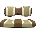 For Genesis 250 300 Rear Seat | Madjax Tsunami Seat Cushions Caramel Oyster